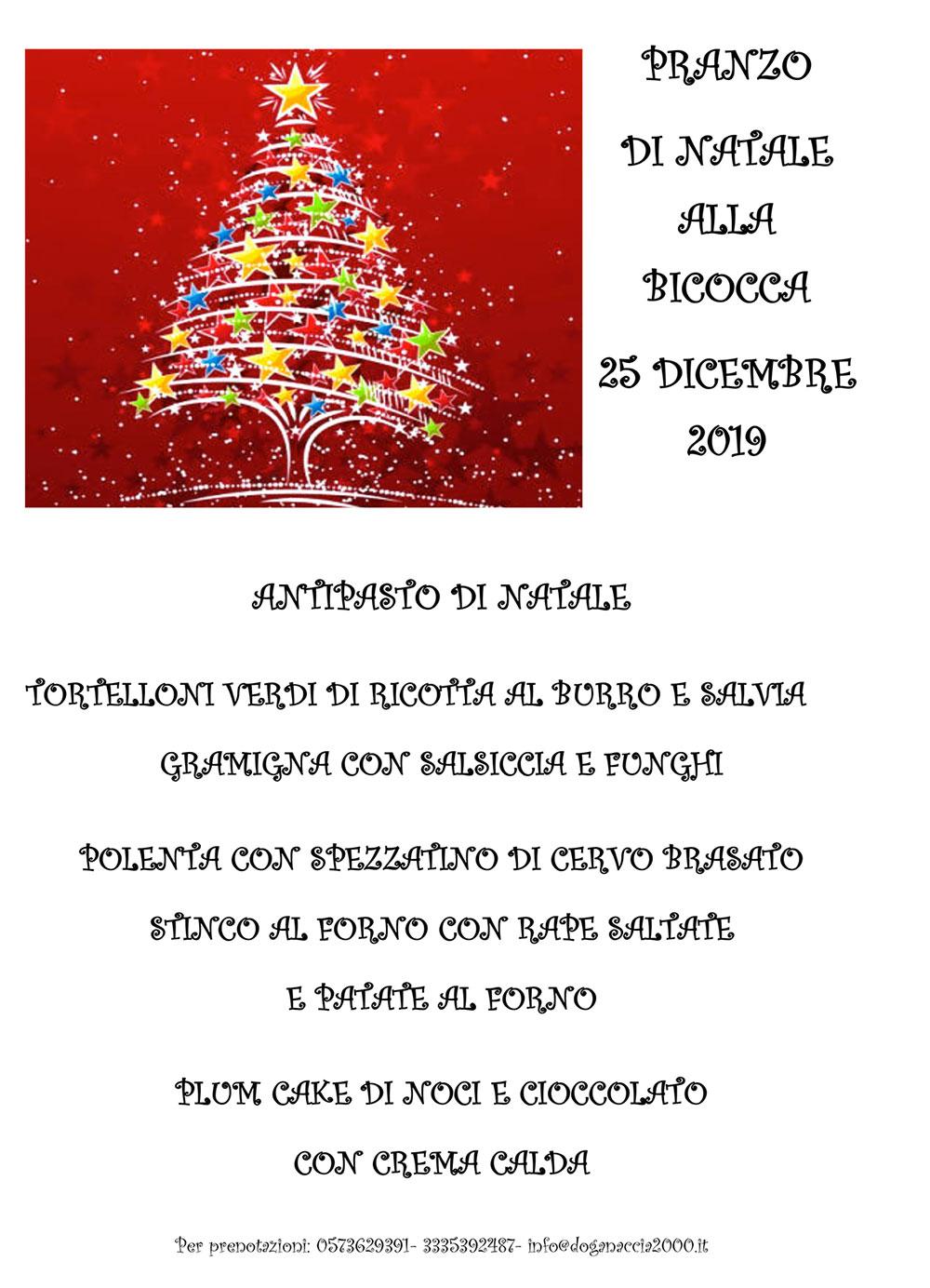 Natale 2019 alla Bicocca - Doganaccia2000